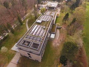 Begrüntes Dach Photovoltaik