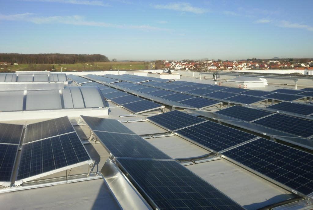 Photovoltaikanlage Zell unter Aichelberg