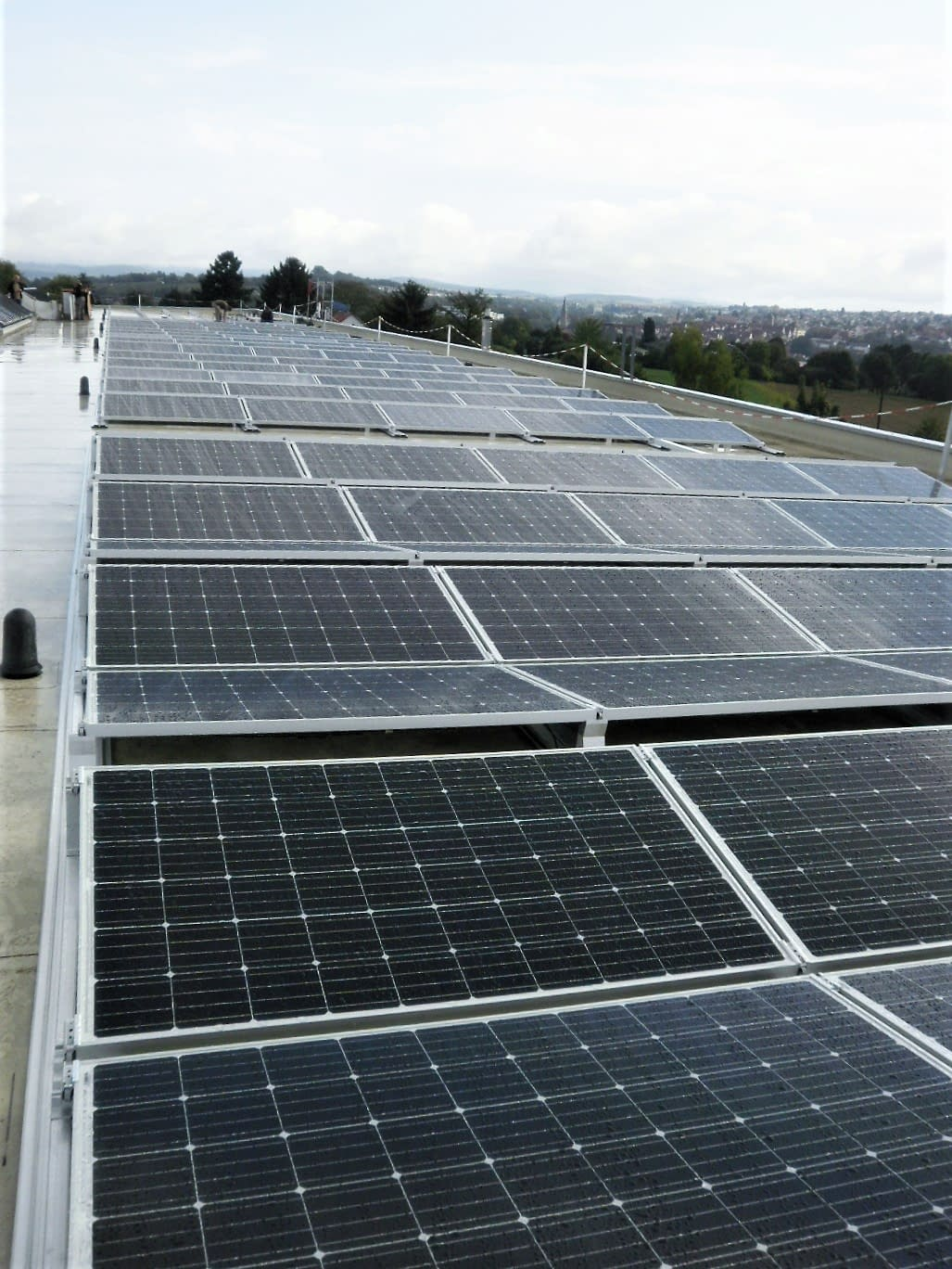 Photovoltaikanlage in Benningen