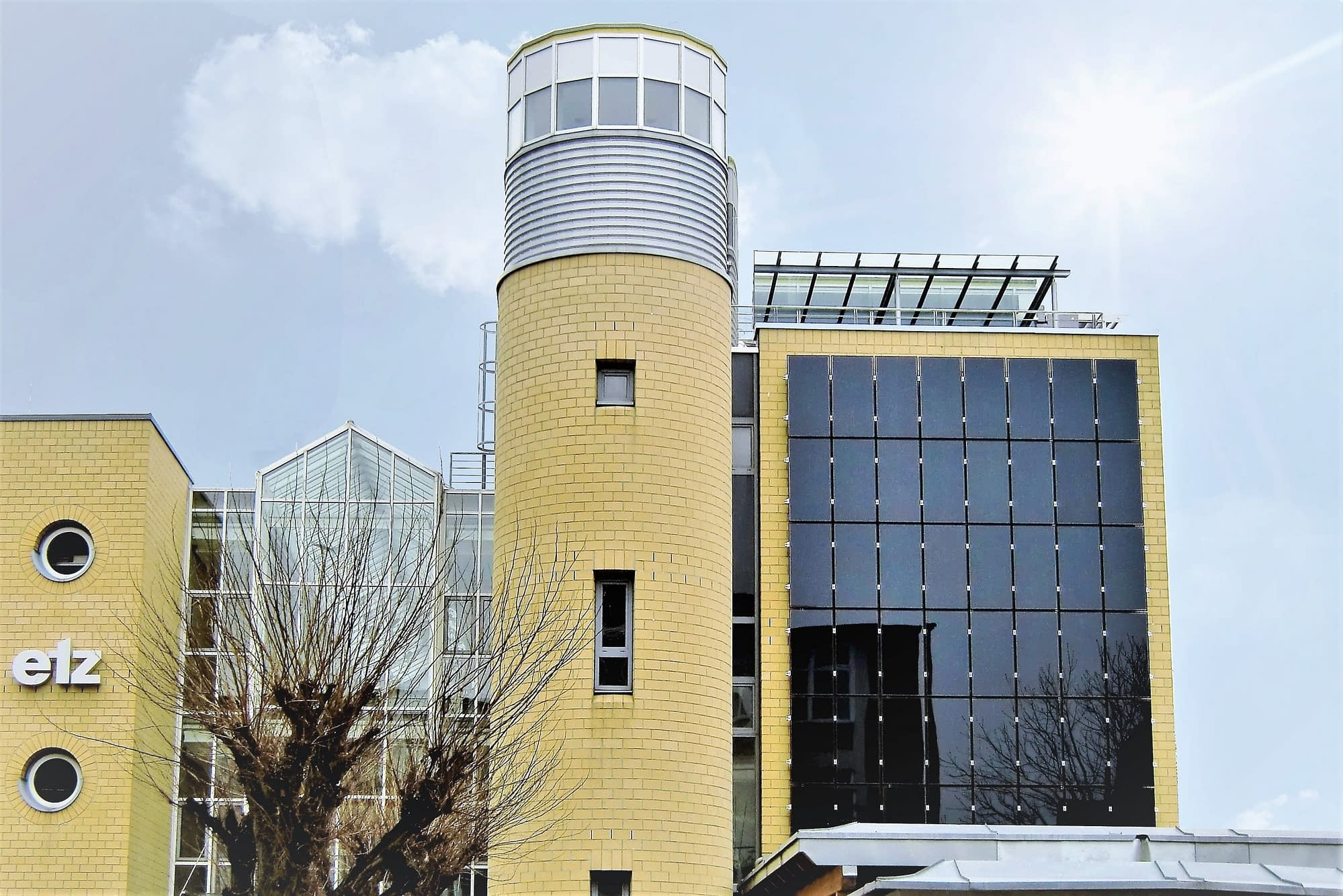 Solarstromanlage in Stuttgart