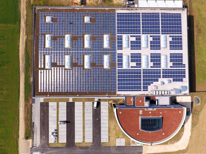 Photovoltaik Zell unter Aichelberg