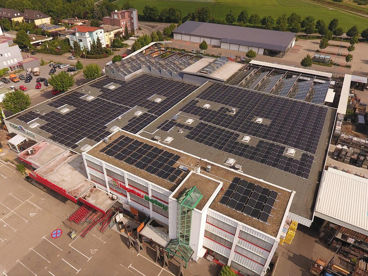 Solarkraftwerk Rutesheim