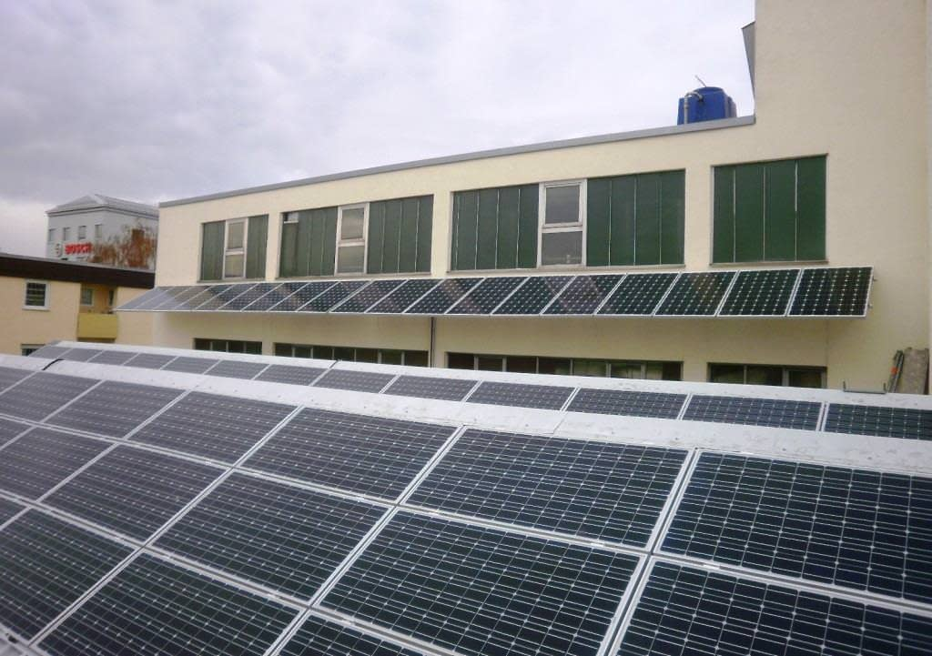 Solarkraftwerk Leonberg