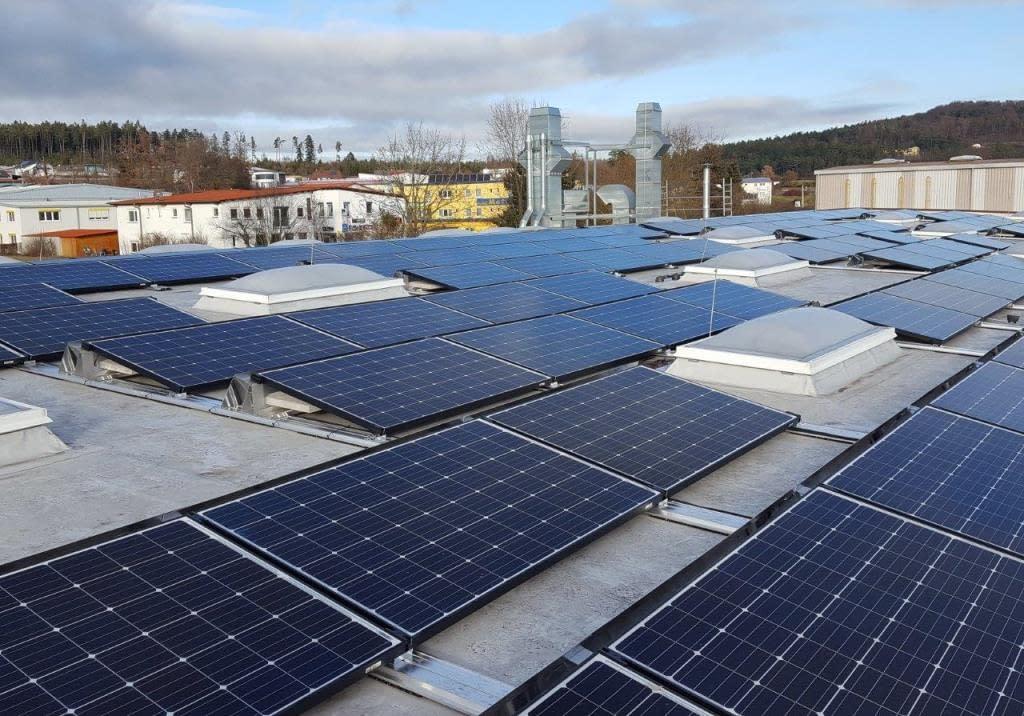 Photovoltaik Solaranlage in Althengstett