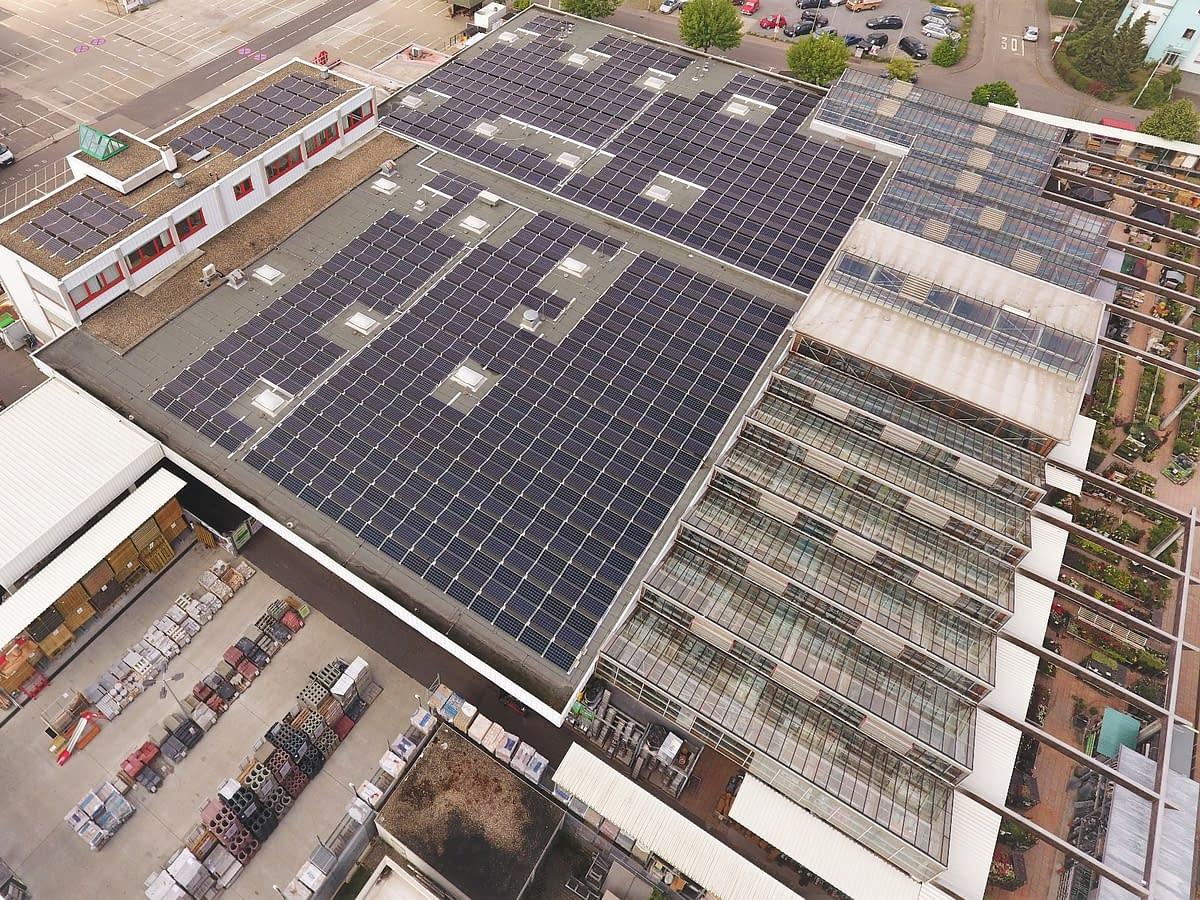 Rutesheim Solaranlage