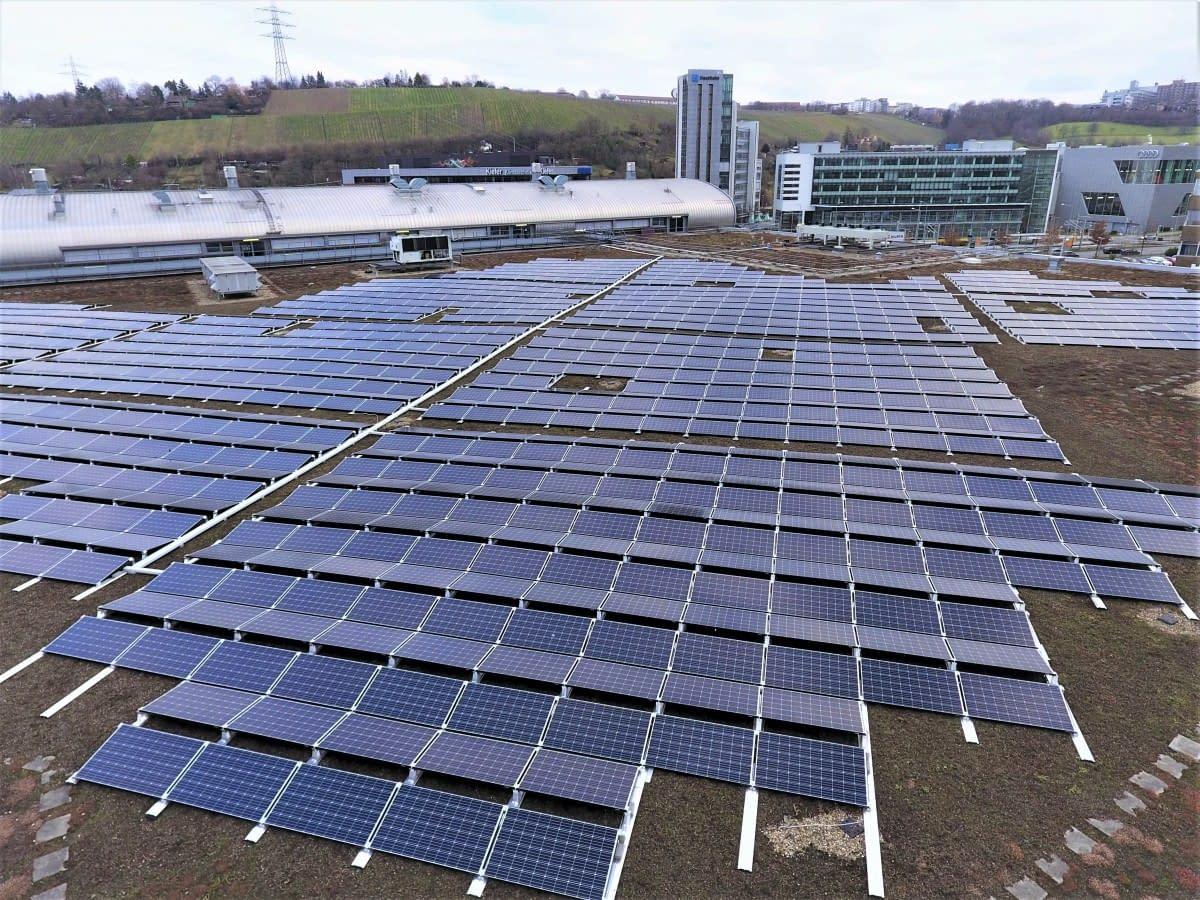 Solarkraftwerk in Stuttgart