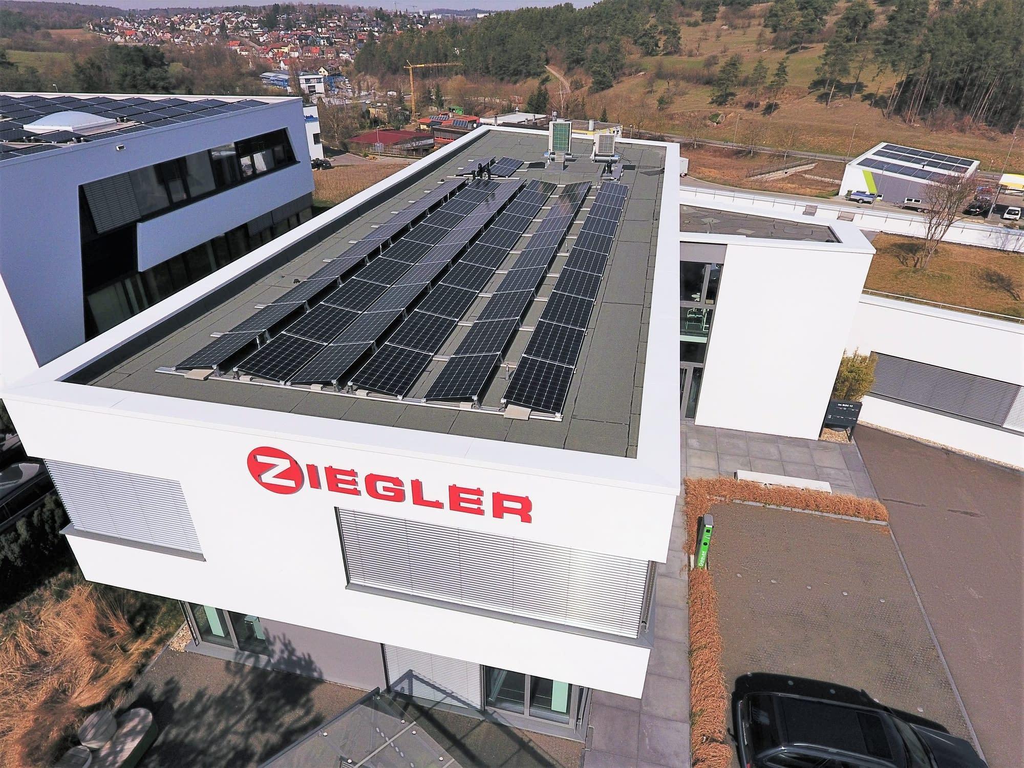 Solarstromanlage Weissach
