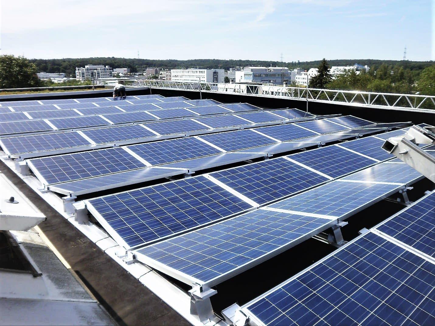 Solarkraftwerk in Pforzheim