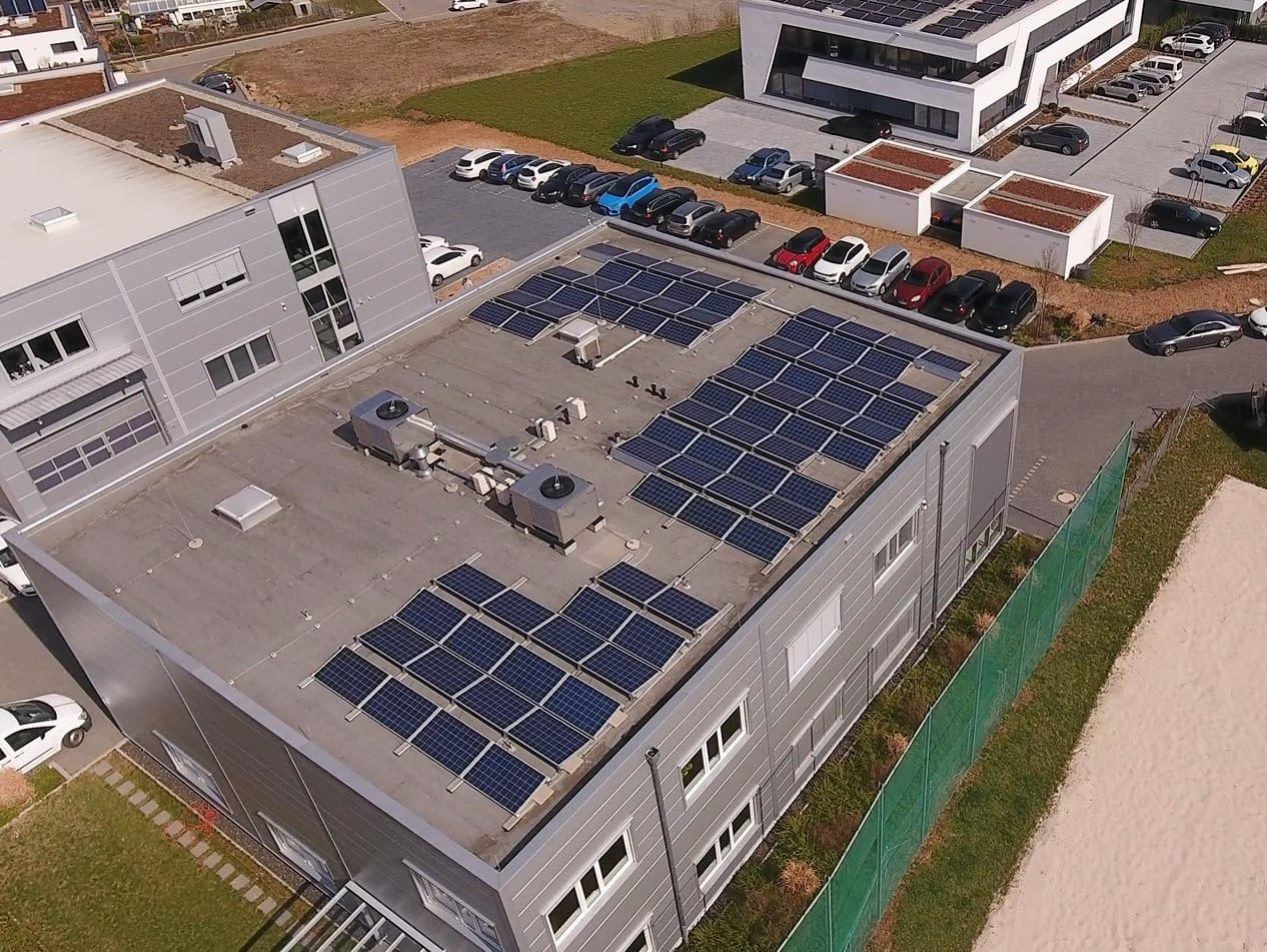 Photovoltaik Weissach