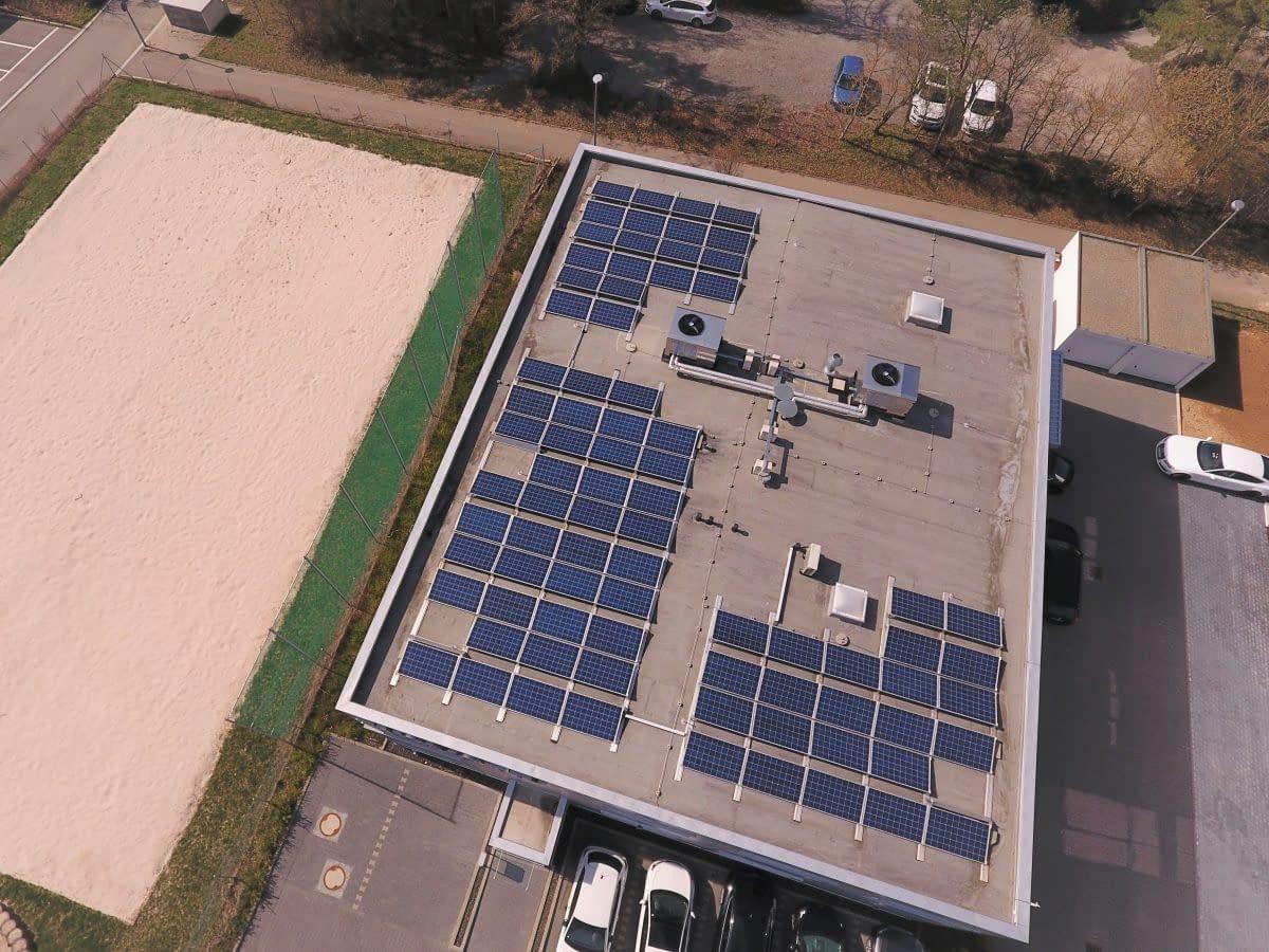 Solarkraftwerk Weissach