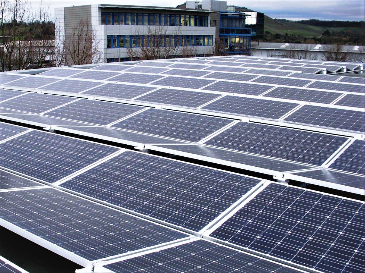 Solaranlage Erlenbach