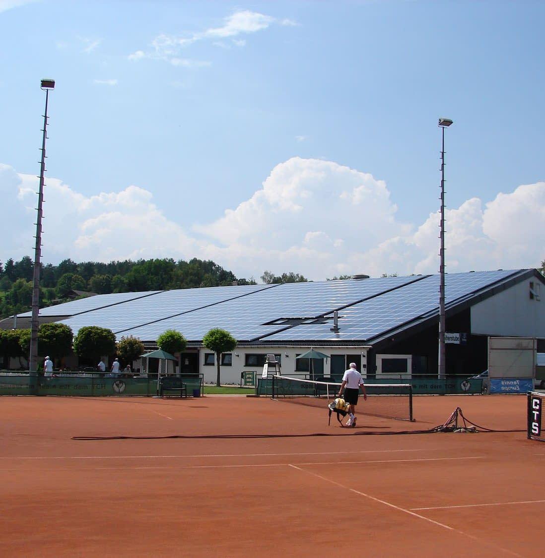 Solarkraftwerk in Hechingen